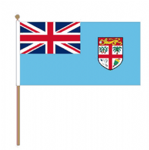 FIJI - HAND WAVING FLAG (MEDIUM)